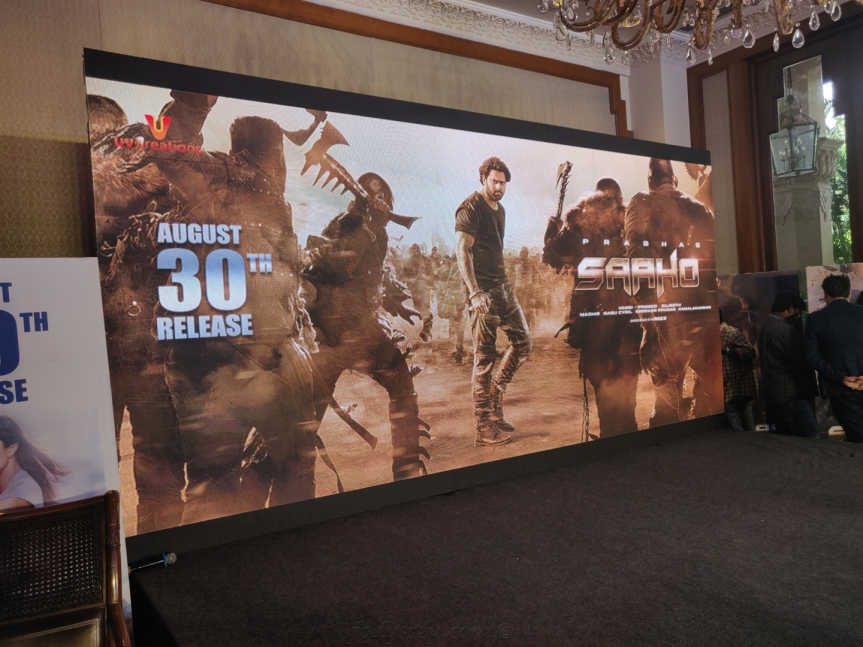 SAAHO – Press Conference in Bangalore